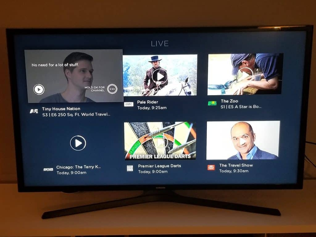 Browse live shows with Philo TV (Roku)