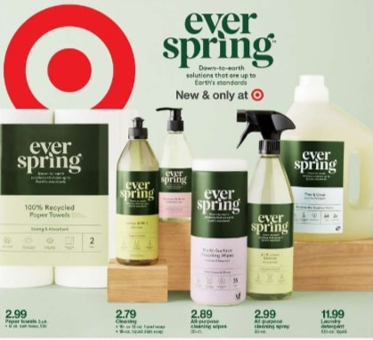 Target's new Everspring household products line