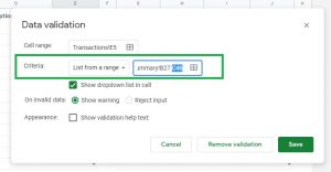 Next to Criteria, look for the box that says Summary!B27:C44 and adjust the last number
