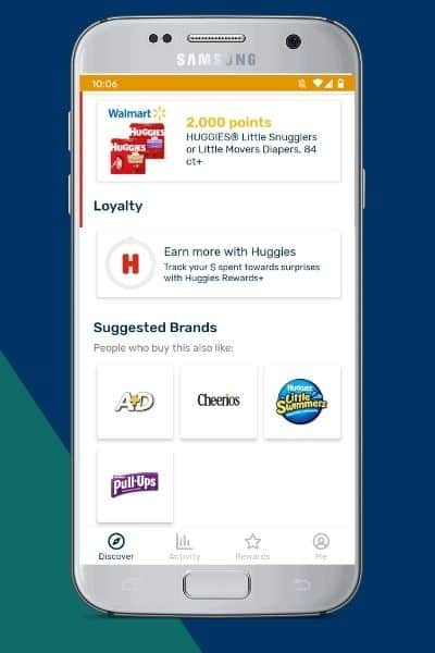 Earn more with Huggies under Loyalty section of the Huggies page