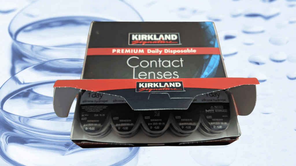 Costco Contact Lenses from Kirkland Signature