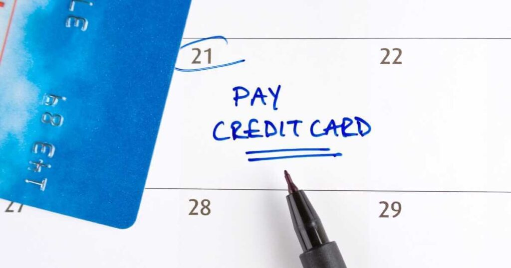 Credit Card Auto Pay Rule