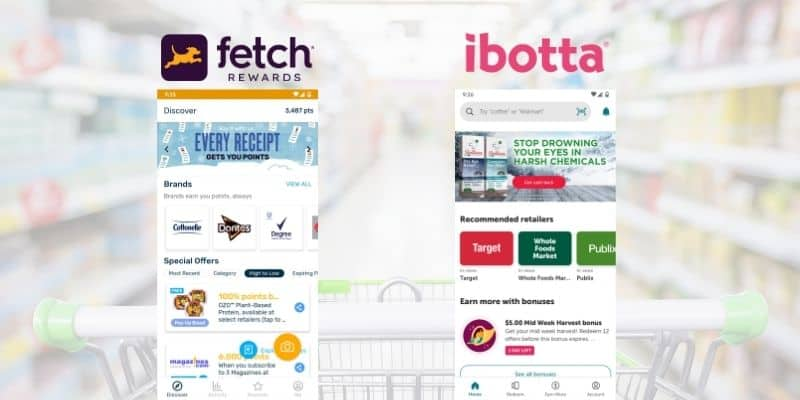 Fetch Rewards vs. Ibotta in-app experience - Ease of Use